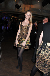 CHLOE DELEVINGNE at the Wild for WSPA dinner in aid of the charity World Society for the Protection of Animals held at Under The Bridge, Stamford Bridge, Fulham Road, London on 23rd February 2012.