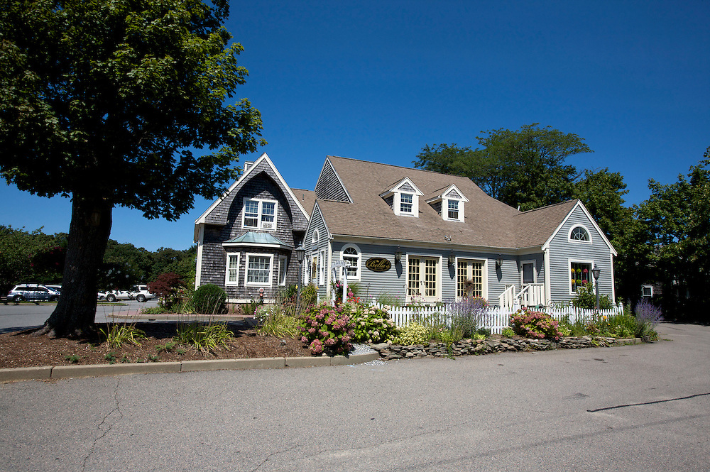 UNITED STATES-CAPE COD-House. PHOTO: GERRIT DE HEUS.VS-CAPE COD-Typische bouwstijl voor Cape Cod. PHOTO GERRIT DE HEUS