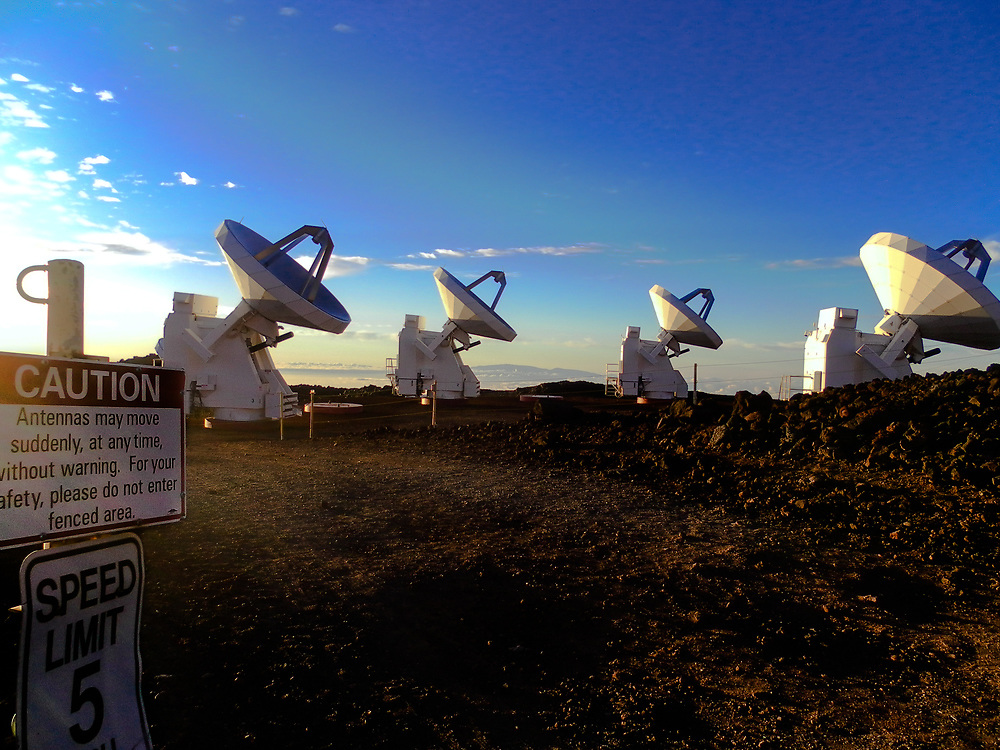 The Submillimeter Array (SMA) is an 8-element radio interferometer located atop Mauna kea in Hawaii. Operating at frequencies from 180 GHz to 418 GHz, the 6m dishes may be arranged into configurations with baselines as long as 509m, producing a synthesized beam of sub-arcsecond width. Each element can observe with two receivers simultaneously, with up to 8 GHz bandwidth each per sideband. The digital correlator backend provides a uniform resolution as high as 140 kHz.