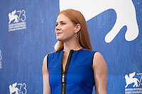 Amy Adams at Arrival film photocall at the 73rd Venice Film Festival, Sala Grande on Thursday September 1st 2016, Venice Lido, Italy.