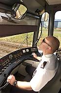 Supertram Driver Phil Bell.