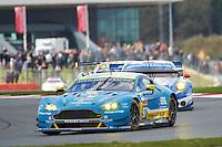 Richie Stanaway (NZL) / Fernando Rees (BRA) / Jonathan Adam (GBR) #97 Aston Martin Racing Aston Martin Vantage, WEC 6 Hours of Silverstone 2016 at Silverstone, Towcester, Northamptonshire, United Kingdom. April 17 2016. World Copyright Peter Taylor/PSP.