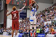 DESCRIZIONE : Campionato 2014/15 Dinamo Banco di Sardegna Sassari - Umana Reyer Venezia<br /> GIOCATORE : Rakim Sanders<br /> CATEGORIA : Tiro Tre Punti<br /> SQUADRA : Dinamo Banco di Sardegna Sassari<br /> EVENTO : LegaBasket Serie A Beko 2014/2015<br /> GARA : Dinamo Banco di Sardegna Sassari - Umana Reyer Venezia<br /> DATA : 03/05/2015<br /> SPORT : Pallacanestro <br /> AUTORE : Agenzia Ciamillo-Castoria/C.Atzori