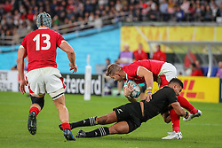 "November 1, 2019, TóQuio, Japão: TÃ""QUIO, TO - 01.11.2019: RUGBY WORLD CUP 2019 ALL BLACKS X WALES - Match valid for the Rugby World Cup 2019 bronze medal match between All Blacks (New Zealand) and Wales (Wales) held at TOKYO STADIUM in Tokyo, JPN  (Credit Image: © Bruno Ruas/Fotoarena via ZUMA Press)"