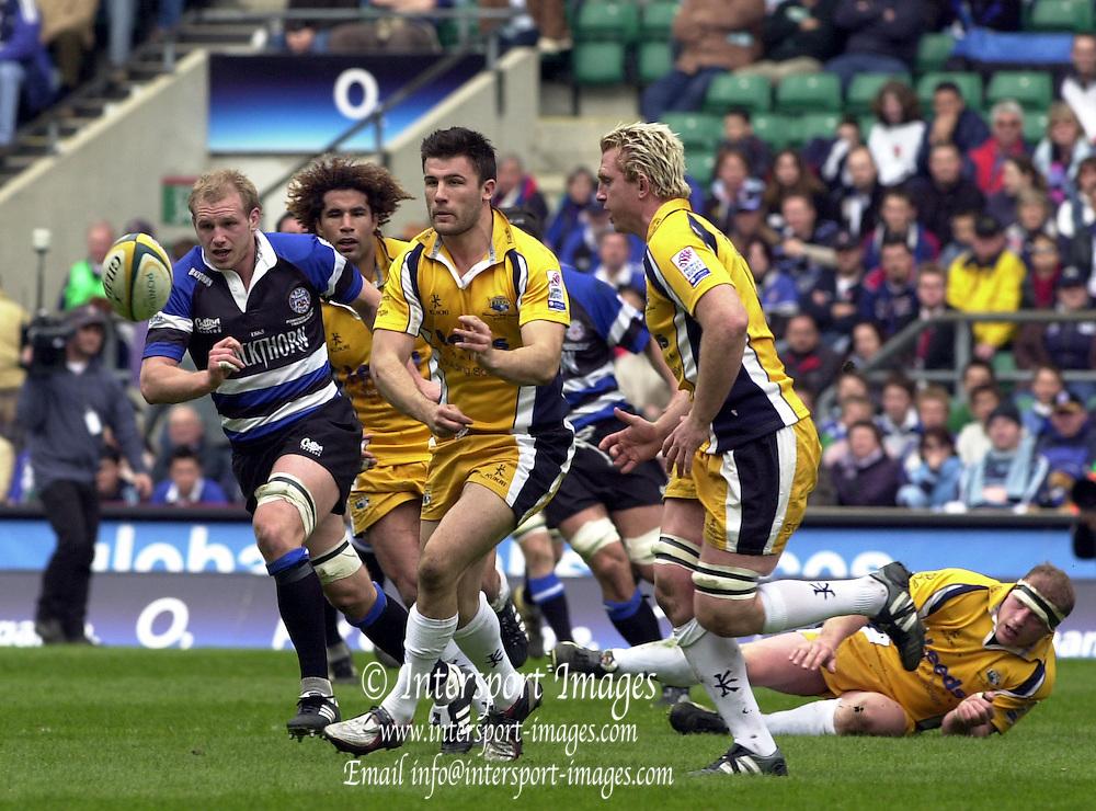 2005 Powergen Cup, Leeds Tykes vs Bath Rugby, 16.04.05, Twickenham Stadium, Twickenham, ENGLAND:.Photo  Peter Spurrier. .email images@intersport-images...