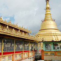 Stupa of Botataung pagoda at Yangon