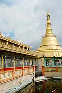 Stupa of Botataung pagoda at Yangon