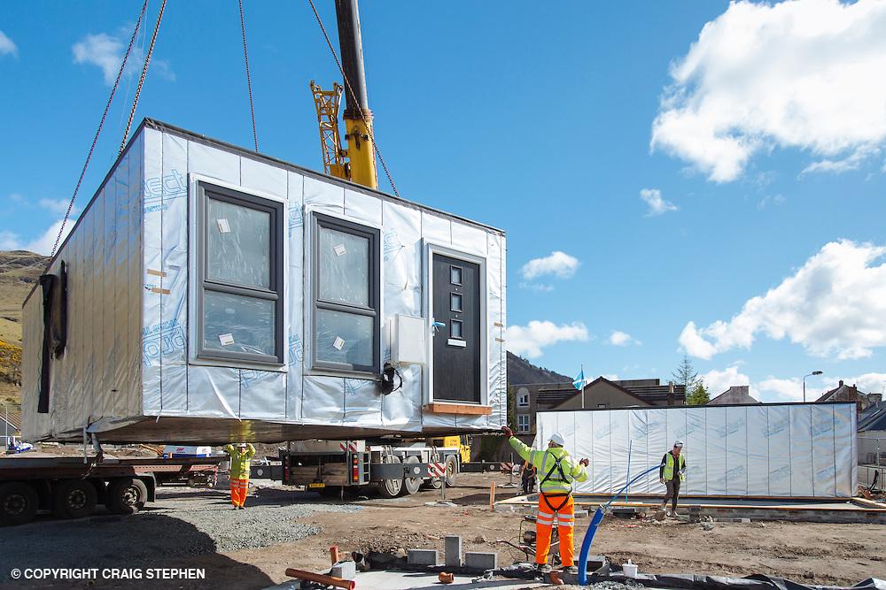 Commercial photography Alva Academy site, Clackmannanshire, Scotland for BDH - Building Product Design.