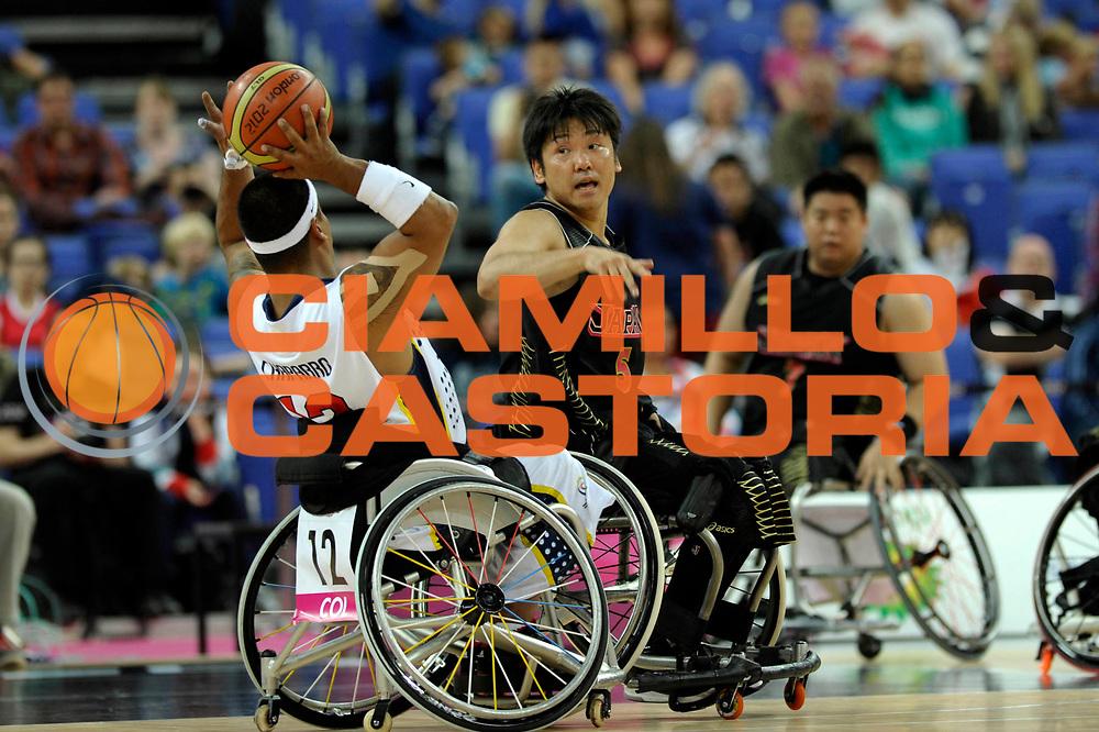 DESCRIZIONE : London Londra Paralympic Games ParaOlimpiadi 2012 Colombia Japan Colombia Giappone<br /> GIOCATORE :<br /> CATEGORIA :<br /> SQUADRA : Colombia Giappone Japan<br /> EVENTO : Paralympic Games ParaOlimpiadi 2012<br /> GARA : Colombia Japan Colombia Giappone<br /> DATA : 02/09/2012<br /> SPORT : Pallacanestro <br /> AUTORE : Agenzia Ciamillo-Castoria/G.Fiolo<br /> Galleria : London Londra Paralympic Games ParaOlimpiadi 2012 <br /> Fotonotizia : London Londra Paralympic Games ParaOlimpiadi 2012 Colombia Japan Colombia Giappone<br /> Predefinita :