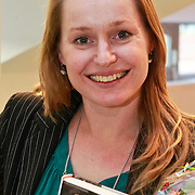 NLD/Amsterdam/20110221 - Boekpresentatie De Sportcanon, Minke Booij