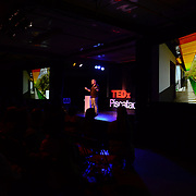 Eric Cesal speaks at TEDx PiscataquaRiver at 3S Artspace in Portsmouth, NH on May 3, 2013