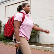 Charae Williams goes about her day. For Ohio Today