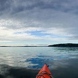 Paddling Out, Castine, Maine, US