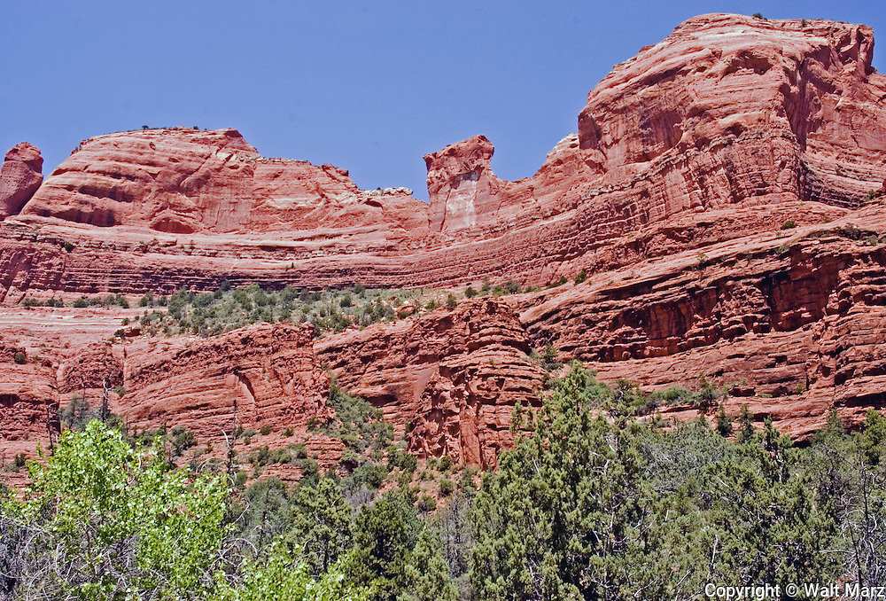 Bat Rock, Sedona, Arizona,. Taken while on Backcountry Jeep tour