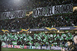 November 8, 2018 - Seville, Spain - Supporters of Betis during the Europa League Group F soccer match between Real Betis and AC Milan at the Benito Villamarin Stadium (Credit Image: © Daniel Gonzalez Acuna/ZUMA Wire)