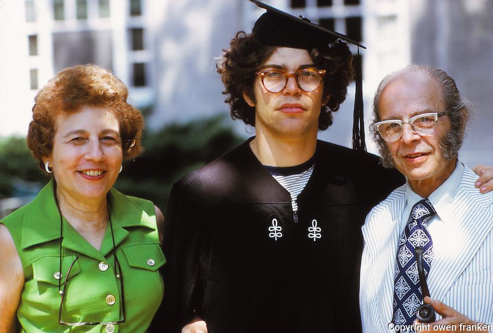al phoebe joe franken at al's harvard Graduation