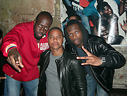 **EXCLUSIVE**.Wyclef Jean, Cuba Gooding Jr. & Praz. PM Lounge .Meat Packing District .New York City, NY, USA .Wednsday, May, 22, 2007.Photo By Celebrityvibe.To license this image call (212) 410 5354 or;.Email: celebrityvibe@gmail.com; .