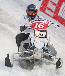 07.12.2014, Saalbach Hinterglemm, AUT, Snow Mobile, im Bild Marc Aurel Coleselli, HBRacing // during the Snow Mobile Event at Saalbach Hinterglemm, Austria on 2014/12/07. EXPA Pictures © 2014, PhotoCredit: EXPA/ JFK