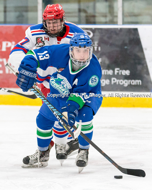 Ontario Junior Hockey League Game Between The Oakville Blades And