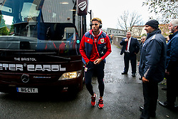 Lloyd Kelly of Bristol City arrives at St Andrew's Stadium - Mandatory by-line: Robbie Stephenson/JMP - 08/12/2018 - FOOTBALL - St Andrew's Stadium - Birmingham, England - Birmingham City v Bristol City - Sky Bet Championship