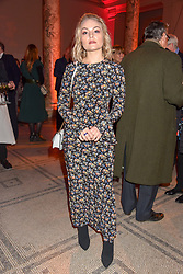 Lady Clara Charteris at the Mary Quant VIP Preview at The Victoria & Albert Museum, London, England. 03 April 2019. <br /> <br /> ***For fees please contact us prior to publication***
