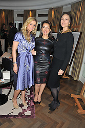 Left to right, MARIE GUERLAIN, KAREN RUIMY and LADY NUTTAL at The Great Initiative event in association with jewellers Boodles held at The Corinthia Hotel, London on 6th November 2012.