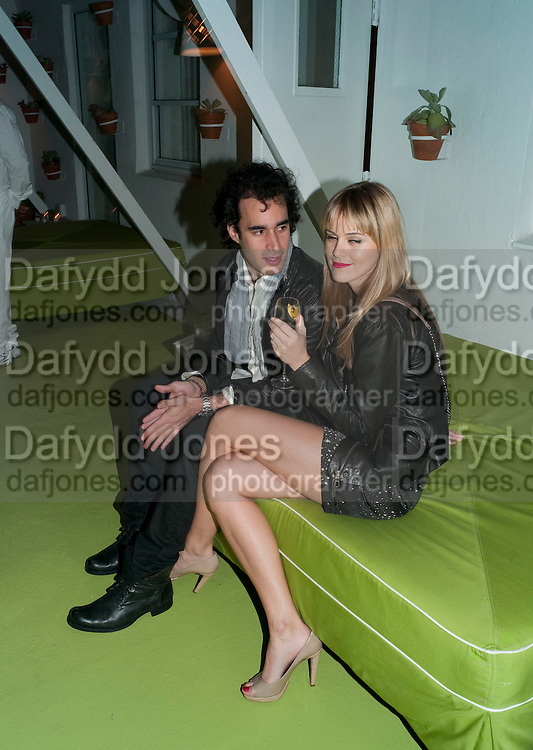 ADRIANNA BIASI; BRENDAN RALPH, LVMH and Interview MagazineÕs dinner. Solarium at Delano. Miami Beach. 2 December 2010. -DO NOT ARCHIVE-© Copyright Photograph by Dafydd Jones. 248 Clapham Rd. London SW9 0PZ. Tel 0207 820 0771. www.dafjones.com.<br /> ADRIANNA BIASI; BRENDAN RALPH, LVMH and Interview Magazine's dinner. Solarium at Delano. Miami Beach. 2 December 2010. -DO NOT ARCHIVE-© Copyright Photograph by Dafydd Jones. 248 Clapham Rd. London SW9 0PZ. Tel 0207 820 0771. www.dafjones.com.