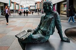 View of modern Ayr Central Shopping centre in Ayr, Ayrshire, Scotland, United Kingdom