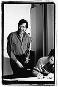 Tony Wilson and Peter Saville,London 1980