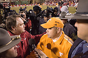 Arkansas Razorbacks vs Tennessee Volunteers on November 10,.2006 in Fayetteville, Arkansas.University of Arkansas Razorback 2006 Football team....©Wesley Hitt.All Rights Reserved.501-258-0920.