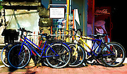 Digital Painting of Bicycle for Rent