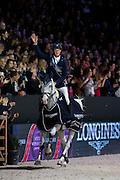 Daniel Deusser - Cornet d'Amour, winner Longines FEI World Cup Final<br /> FEI World Cup Final 2014<br /> © DigiShots