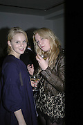 Hattie Gallagher and Emerald Fennell, Vogue 90th birthday party and to celebrate the Vogue List, Serpentine Gallery. London. 8 November 2006. ONE TIME USE ONLY - DO NOT ARCHIVE  © Copyright Photograph by Dafydd Jones 66 Stockwell Park Rd. London SW9 0DA Tel 020 7733 0108 www.dafjones.com