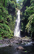 Waterfall, Hana Coast, Maui, Hawaii<br />
