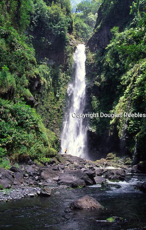 Waterfall, Hana Coast, Maui, Hawaii<br />
