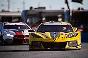 January 22-26, 2020. IMSA Weathertech Series. Rolex Daytona 24hr. #3 Corvette Racing Corvette C8.R, GTLM: Antonio Garcia, Jordan Taylor, Nicky Catsburg