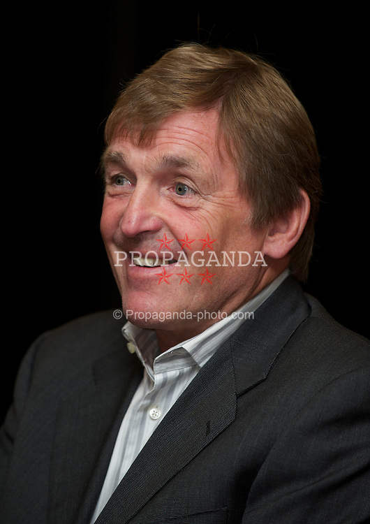 LIVERPOOL, ENGLAND - Friday, September 17, 2010: Liverpool legend Kenny Dalglish at the launch of his autobiography 'Kenny Dalglish - My Liverpool Home' at Anfield. (Photo by David Rawcliffe/Propaganda)