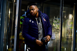 Panos Mayindombe of Bristol Flyers arrives at SGS Wise Arena prior to kick off - Photo mandatory by-line: Ryan Hiscott/JMP - 06/12/2019 - BASKETBALL - SGS Wise Arena - Bristol, England - Bristol Flyers v Sheffield Sharks - British Basketball League Championship