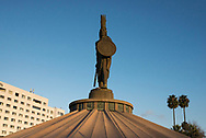 Tijuana, Mexico: Cuauhtemoc statue.