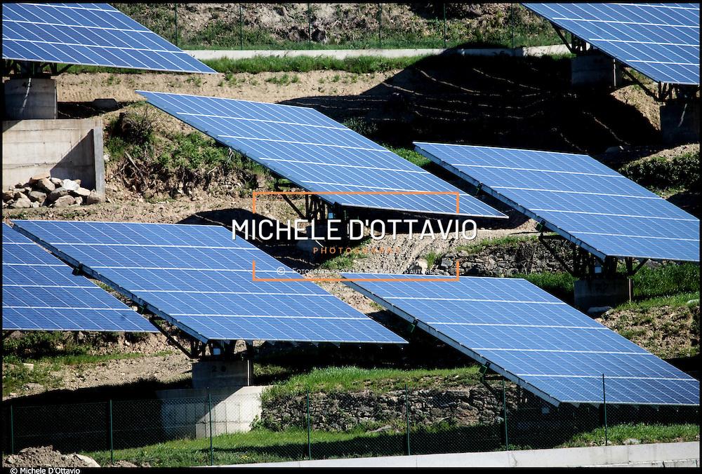 Centrale fotovoltaica di Dorzano (Biella) in Piemonte