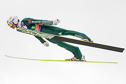 Kraus Marinus of Germany during Large Hill Team Event at 3rd day of FIS Ski Jumping World Cup Finals Planica 2014, on March 22, 2014 in Planica, Slovenia. Photo by Grega Valancic / Sportida