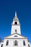 New England Church, Newburyport, Massachusetts, USA.