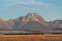 Moun Moran from Cunningham Ranch, Grand Teton National Park Wyoming