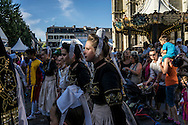 The Festival de Cornouaille on Friday, July 22, 2016 in Quimper, France.