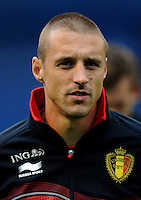 Football Fifa Brazil 2014 World Cup Matchs-Qualifier / Europe - Group A /<br /> Croatia vs Belgium 1-2  ( Maksimir Stadium - Zagreb , Croatia )<br /> Timmy SIMONS of Belgium , during the match between Croatia and Belgium