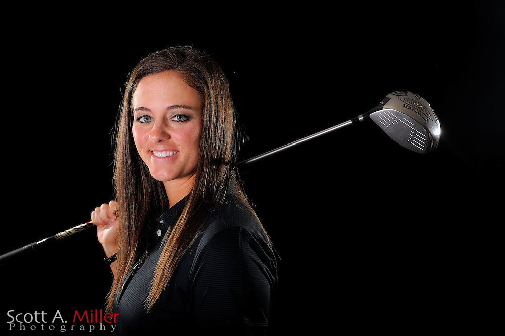 Kendall Dye during a portrait shoot prior to the LPGA Futures Tour's Daytona Beach Invitational at LPGA International's Championship Courser on March 29, 2011 in Daytona Beach, Florida... ©2011 Scott A. Miller