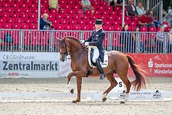 SCHMIDT Hubertus (GER), Bonamour 2<br /> Münster - Turnier der Sieger 2019<br /> PRIZE OF KAPPEL HIBERNIA GmbH & Co.KG<br /> Grand Prix de Dressage <br />  Wertung zu MEGGLE Champion of Honour <br /> 01. August 2019<br /> © www.sportfotos-lafrentz.de/Stefan Lafrentz