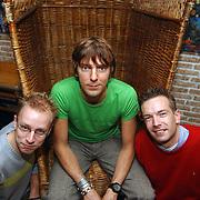 Winterpresentatie BNN, Sander de Heer, Ruud de Wild en Jeroen Kijk in de Vegt