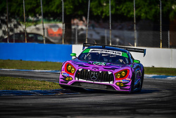 March 15, 2019 - Sebring, UNITED STATES OF AMERICA - 71 P1 MOTORSPORTS (USA) MERCEDES AMG GT3 GTD MAXIMILIAN BUHK (DEU) FABIAN SCHILLER (DEU) JC PEREZ  (Credit Image: © Panoramic via ZUMA Press)