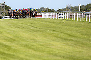 Essgee Nics ridden by William Carson trained by Robyn Brisland, Flying Focus ridden by George Rooke trained by Milton Harris, Guardiola ridden by Joshua Bryan trained by Bernard Llewellyn, Johni Boxit ridden by Raul Da Silva trained by Brian Barr, Johni Boxit ridden by Raul Da Silva trained by Brian Barr, Margie's Choice ridden by Kieran O'Neill trained by Michael Madgwick, Pike Corner Cross ridden by Keelan Baker trained by David Evans, Sir Magnum ridden by Hector Crouch trained by Tony Carroll, Birkie Queen ridden by Liam Keniry trained by JS Moore, Grimsthorpe Castle ridden by Shane Gray, Ho Leng Lui ridden by Cieren Fallon trained by William Jarvis in the Signs Express Classified Stakes - Mandatory by-line: Robbie Stephenson/JMP - 22/07/2020 - HORSE RACING - Bath Racecoure - Bath, England - Bath Races